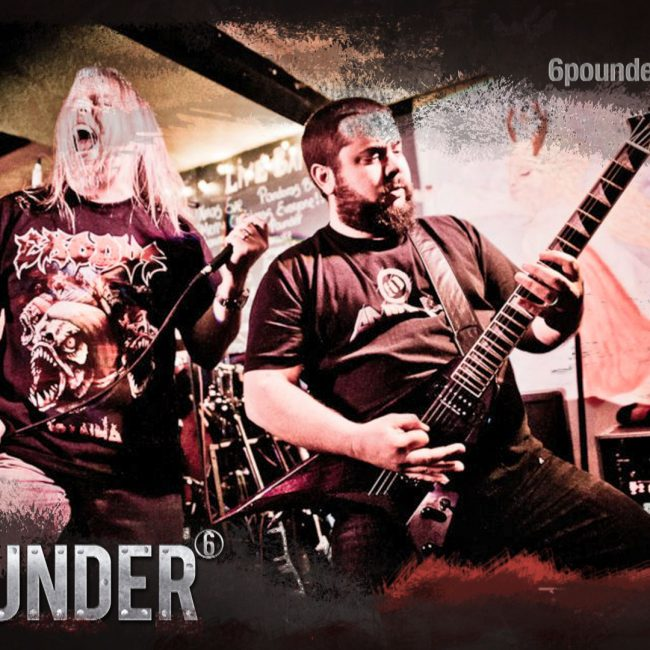 Six Pounder, Northampton's premier heavy rock covers band